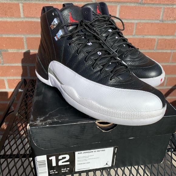 Nike Air Jordan 12 Retro Playoff (2012) sz 12